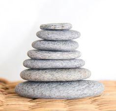 DIY Zen-Steinturm Zen, Convenience Store, Spirals, Stones, Convinience Store