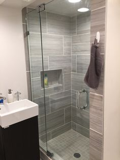 Charismatic Bathroom Shower Doors, Shower Doors There are many things to think about, in regards to Bathroom Shower Doors. Shower doors and tub enclosures play a critical role in your b. Walk In Bathroom Showers, Bathroom Shower Doors, Small Bathroom With Shower, Frameless Shower Doors, Bathroom Design Small, Small Bathrooms, Bathroom Ideas, Shower Cabinets, Washroom