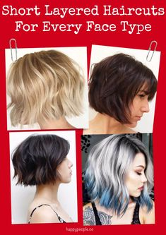 21 Cute Short Layered Haircuts For Every Face Type
