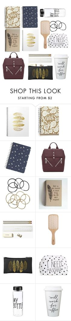 """""""Allison Argent School Essentials"""" by shadyannon ❤ liked on Polyvore featuring Fat Face, Kenzo, H&M, Kate Spade, Philip Kingsley and Itsa Girl Thing"""