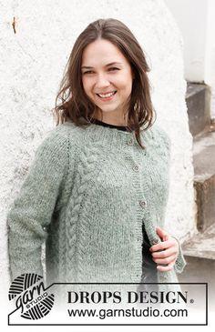 Jumper Knitting Pattern, Cardigan Pattern, Knitting Patterns Free, Knit Patterns, Free Knitting, Drops Design, Magazine Drops, Mohair Sweater, Alpacas