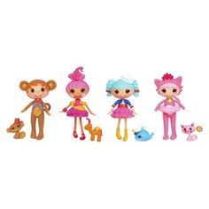 Mini Lalaloopsy Doll Silly Fun House Bundle