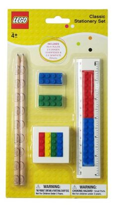 Lego Buildable Classic Stationery Character Stationery Set ** Visit the image link more details. (It is Amazon affiliate link) #likes4likes
