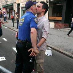 Soon after the Supreme Court's historic marriage equality ruling, NYPD Detective Thomas Verni proposed to his partner Joe Moran on the street where the 1969 Stonewall riots took place.