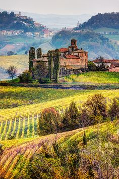 Travel Inspiration for Italy - Langhe - Castello della Volta, Italy Piedmont Italy, Tuscany Italy, Siena Italy, Italy Vacation, Italy Travel, Siena Toscana, Cool Places To Visit, Places To Travel, Beautiful World