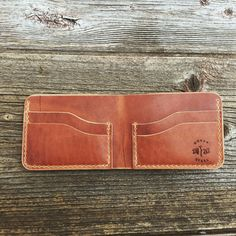 Bifold Wallet Mens Wallet Wallet Leather Wallet by woodnsteel
