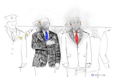 22-01-2018-Vicepresidente Usa Mike Pence e Netanyahu a Gerusalemme-disegno digitale con i pad pro-fonte ANSA   #drawingsstockimage #artproject #stefanobullo #digitaldrawing #ipadproart  #procreateart #contemporaryart #fineart #drawing #visualart #emergingart #italianartist #art #artecontemporanea #disegno #artevisiva #artistaitaliano 