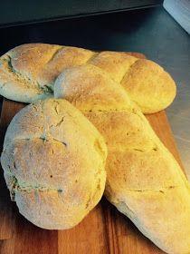 ΜΑΓΕΙΡΙΚΗ ΚΑΙ ΣΥΝΤΑΓΕΣ 2: Ψωμί σπιτικό !!! Cooking Recipes, Bread, Food, Yum Yum, Style, Swag, Chef Recipes, Brot, Essen