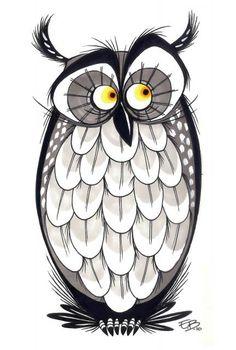 Elaine Bogan #1 - owl