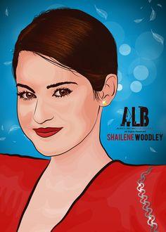 Shailene Woodley Vector Art by arelberg.deviantart.com on @deviantART