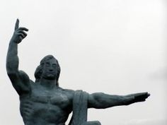 Peace Statute in Peace Park in Nagasaki