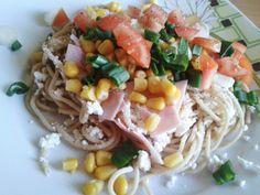 fitrecepty: Jarné tvarohové špagety. Môj obľúbený fitness recept!