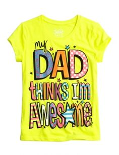 Awesome Dad Graphic Tee @ www.shopjustice.com