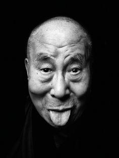 Tenzing Gyatso, XIV Dalai Lama, by Tashi Phuntsok White Photography, Portrait Photography, Chiaroscuro Photography, Rose Croix, 14th Dalai Lama, Lee Jeffries, What Is Love, Funny Faces, Spirituality