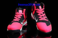 Nike Lebron 9 Kids Shoes Pink/Black #Lovely #pink #products cheap nike shoes