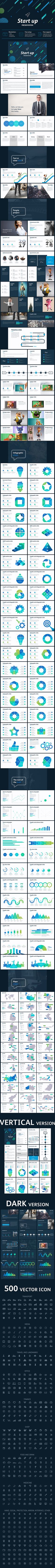 Start up Best Powerpoint template - #Business #PowerPoint #Templates Download here: https://graphicriver.net/item/start-up-best-powerpoint-template/19309079?ref=alena994