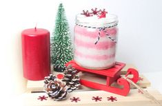 Homemade – With Emilie Pillar Candles, Frugal, Christmas Gifts, Simple, Soap, Diy, Homemade, How To Make, Beauty