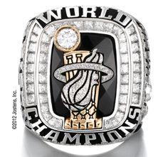 2012 NBA Championship Ring
