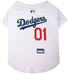 1d7a5f463 Los Angeles Dodgers Dog Jersey - Pets First Get your pet ready for the game  with this officially licensed MLB pet jersey designed with LA Dodgers team  ...