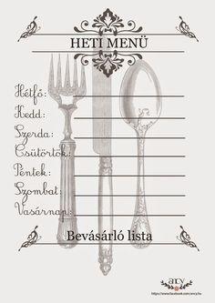 Food Crafts, Diy And Crafts, Filofax, Small Gifts, Stencils, Calendar, Printables, Scrapbook, Organization