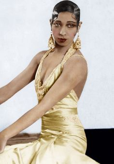 Josephine Baker - Style icons of the 1920s | Friday November 8 2013 at the Mint Museum Uptown, Charlotte NC #FallBallCharlotte
