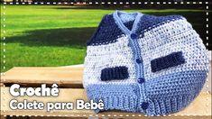 Crochet bolero o chaleco bien facil - Crochet Aphgans Pusheen, Crochet Hairband, Bollywood, Learn How To Knit, Baby Sweaters, Beautiful Patterns, Hair Band, Free Crochet, Knitted Hats