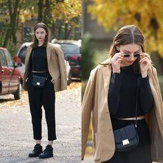 Monki Pants, Nike Af1, Forever 21 Bag
