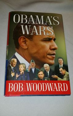 Obama's Wars Book Hardcover Bob Woodward Simon and Schuster