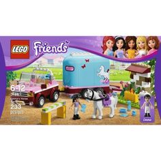 LEGO Friends Emma's Horse Trailer Quick Information Lego Friends Birthday, Lego Friends Sets, Birthday Wishlist, Birthday List, Birthday Stuff, Legos, Kids Christmas, Christmas Gifts, Lego Girls