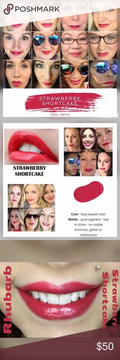 Strawberry Shortcake lip kit Coming Soon! This color is simply amazing! If you have a gloss & Remover you must grab this color. I'll adjust the price to $25. Should be here in a week. Senegence Makeup Lipstick
