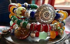 Sundance Style Bracelet/Boho Wrap by EclecticBeadWorks on Etsy