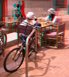 3d Foto, 3d Pictures, Magic Eyes, Glitch, 3 D, Drawings, Cards, Photography, Red And Blue