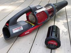 "The TB4300 Handheld Blower ""Powered by CORE"" will find all sorts of creative uses in the yard, around the patio, on the deck, and along the driveway to keep your outdoor space and landscape looking great!"