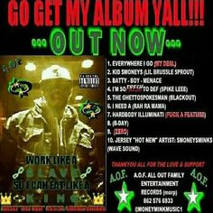 """JERSEY """"HOT NEW"""" ARTIST: $MONEY$MINK$ """"BRAND NEW"""" DEBUT ALBUM WORK LIKE A SLAVESO I CAN EAT LIKE A K.I.N.G.A.O.F. ALL OUT FAMILYENTERTAINMENT RECORDS (morp)@MONEYMINKMUSIC1"""