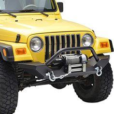 Tyger Auto TG-JA2J2241B Star Armor Kit for 1987-2006 Jeep Wrangler YJ//TJ Side Step Textured Black Running Boards Nerf Bars