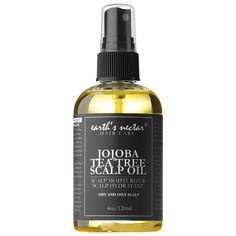 What it is:A soothing scalp oil with essential oils of tea tree and jojoba to control oil production, combat dandruff, and support natural hair growth.   What it is formulated to do:This calming, luxurious scalp oil infuses the scalp with natural e