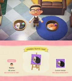 Animal Crossing Wild World, Animal Crossing Fan Art, Animal Crossing Guide, Animal Crossing Qr Codes Clothes, Animal Crossing Villagers, Cabello Animal Crossing, Motifs Animal, Custom Design, Cute Animals