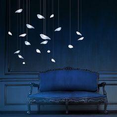 SmoonBirdie Light by Beau. Love these birds flying, it's like in a fairy tale
