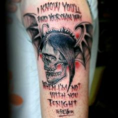 "Another Avenged Sevenfold #avenged #sevenfold #tattoo by Jesse ""Jeco"" Colvin"