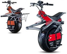 Ryno One Wheel Electric Motorcycle