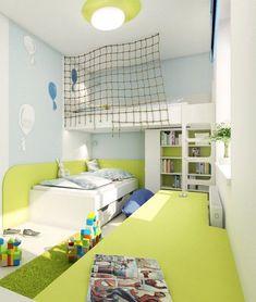 1 pokoj pro 2 děti