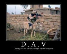 military humor pictures   military-humor-donkey-assault-vehicle-army-dav