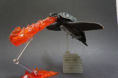 Action Figure Insider » S.H. Monsterarts Gamera is on fire!