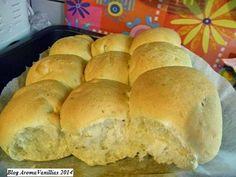 Aroma Vanillias: Αφράτα Ψωμάκια Γλυκανίσου με Κουρκουμά