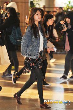 SNSD Sooyoung airport fashion - November 4