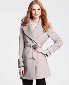 Tall Wool Blend Jasmin Coat