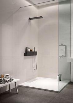 53 ideas bath room window in shower floors Minimalist Bathroom Design, Modern Bathroom Design, Bathroom Interior Design, Window In Shower, Shower Floor, Room Window, Bad Inspiration, Bathroom Inspiration, Bathroom Layout