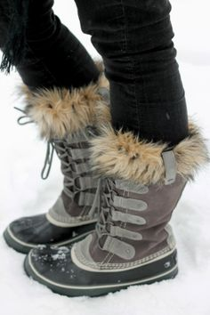 Joan of the Arctic Sorel boots