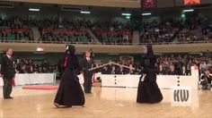 """gifdistrict: """" Kendo match: Opponent disarmed """""""