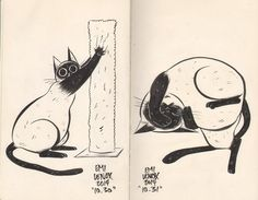 hilariously adorable cat drawings by emi lenox (6)